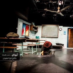 گزارش تصویری تیوال از نمایش متساوی الساقین / عکاس: سید ضیا الدین صفویان | عکس