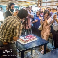 گزارش تصویری تیوال از جشن تولد چهار سالگی تیوال با حضور همکاران و هنرمندان (سری دوم) / عکاس: رضا جاویدی | عکس