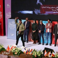 گزارش تصویری تیوال از اختتامیه یازدهمین جشنواره بین المللی پویانمایی تهران (سری نخست) / عکاس: پریچهر ژیان | عکس