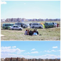 ۱۳ بدری متفاوت در روزهای کرونا   عکس