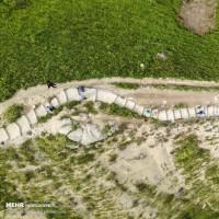 طبیعت بکر مراوه تپه و زیارتگاه خالد نبی | عکس