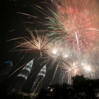 سال نو میلادی در نقاط مختلف جهان | عکس