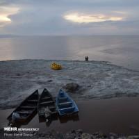 حال خوب دریاچه ارومیه با بارشهای اخیر | عکس