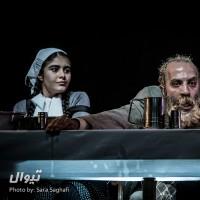 گزارش تصویری تیوال از نمایش مشق شب / عکاس: سارا ثقفی | عکس