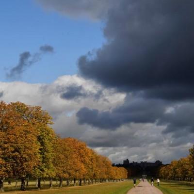 پاییز در نقاط مختلف جهان | Windsor, Britain