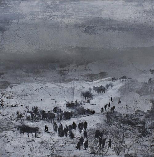 عکس نمایشگاه این زمستان را پایانی نیست
