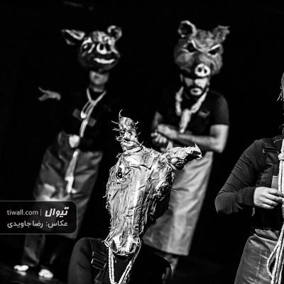 گزارش تصویری تیوال از نمایش قلعه حیوانات / عکاس: رضا جاویدی | عکس