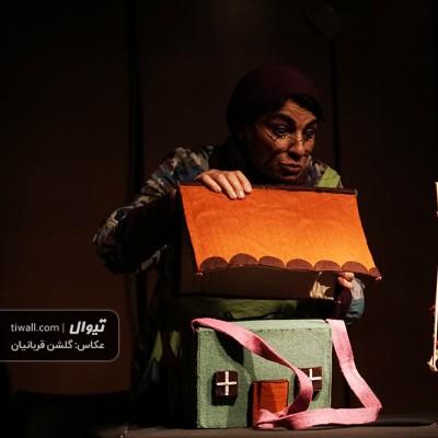 گزارش تصویری تیوال از نمایش شنل قرمزی / عکاس: گلشن قربانیان | عکس