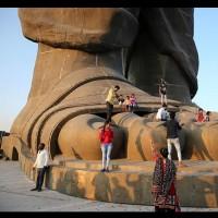 رونمایی از بزرگترین مجسمه جهان، هند | عکس