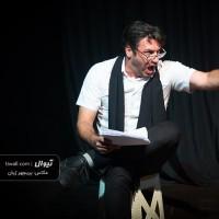 گزارش تصویری تیوال از نمایشنامهخوانی مرثیه ای برای یک سبک وزن / عکاس: پریچهر ژیان   عکس