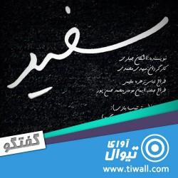 نمایش سفید | گفتگوی تیوال با مهدی محمدی | عکس
