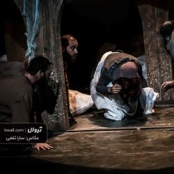 نمایش روز حشر، چهار متر و شصت سانت زیر زمین   عکس
