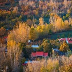 باغشهر هیر در فصل رنگ ها، اردبیل | عکس