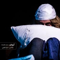 گزارش تصویری تیوال از نمایش یک گفتگوی عاشقانه در صبح دلانگیز سرد زمستانی / عکاس: سارا ثقفی | عکس