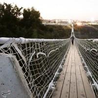 پل معلق مشگینشهر؛ اردبیل | عکس