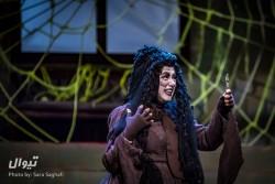نمایش شاپرک خانوم | استقبال روزافزون تماشاگران تئاتر از «شاپرک خانوم» | عکس