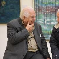 نمایشگاه روزگار محجوب | ۹۰ سال زندگی استاد پیشکسوت هنر معاصر در نمایشگاه «روزگار محجوب» | عکس
