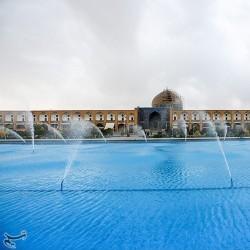 تعطیلی اماکن تاریخی اصفهان به دلیل پشگیری از شیوع کرونا | عکس