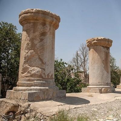 معبد آناهیتا؛ کرمانشاه | عکس
