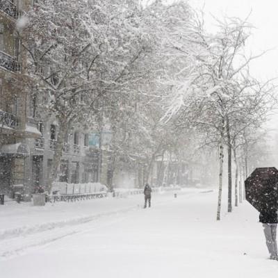 بارش سنگین برف؛ مادرید | عکس