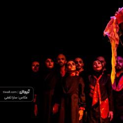 نمایش بازگشت مردگان | عکس