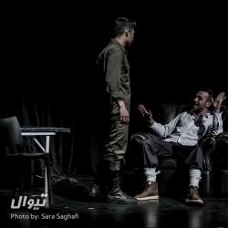گزارش تصویری تیوال از نمایش دیوار / عکاس: سارا ثقفی | عکس