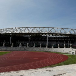 ایتالیا خالی از توریست | ورزشگاه المپیک رم پس از تعلیق تمام مسابقات ورزشی.