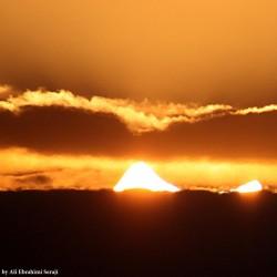 گردش عمان |کسوف حلقوی| | عکس