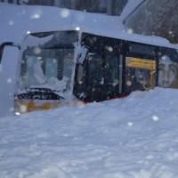 سقوط بهمن در سوییس | عکس
