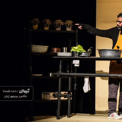گزارش تصویری تیوال از نمایش زیپ / عکاس: پریچهر ژیان | عکس
