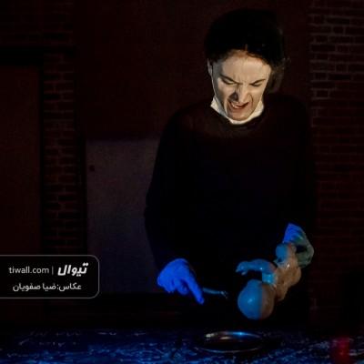 گزارش تصویری تیوال از نمایش الف کاف شین / عکاس: سید ضیا الدین صفویان | عکس