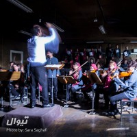گزارش تصویری تیوال از تمرین ارکستر مانجین، سری نخست/ عکاس : سارا ثقفی | ارسلان کامکار ، ارکستر مانجین