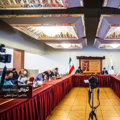 گزارش تصویری تیوال از نشست خبری هجدهمین جشنواره نمایش عروسکی تهران مبارک / عکاس: سارا ثقفی | عکس