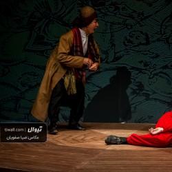 نمایش مضحکهی «جنگنامهی غلامان» تقلید در یک مجلس | عکس