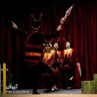 گزارش تصویری تیوال از نمایش ریزه میزه فسقلی / عکاس: سید ضیا الدین صفویان | عکس