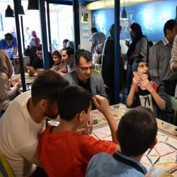 رویداد روز جهانی بازی رومیزی در کافه برد | عکس
