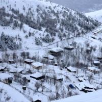 طبیعت زمستانی ییلاق اسالم  | عکس