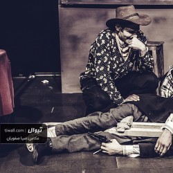 گزارش تصویری تیوال از نمایش مرده فروشی / عکاس: سید ضیا الدین صفویان | عکس