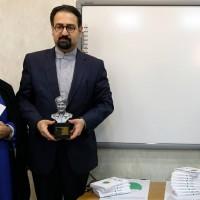 تندیس جهانآرا، نماد جشنواره ملی تئاتر فتح خرمشهر شد | عکس