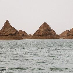 دریاچه شهداد کرمان در دل کویر لوت | عکس