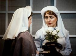 نمایش سکوت سفید | نگاهی به نمایش «سکوت سفید» به کارگردانی کوروش سلیمانی | عکس