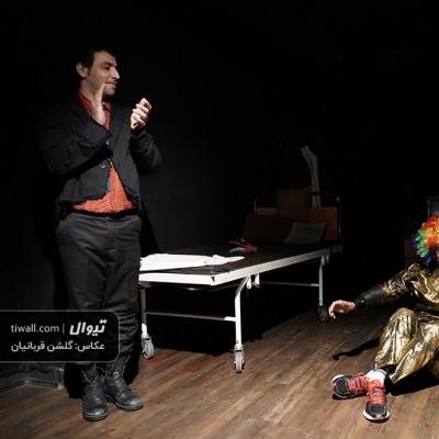 گزارش تصویری تیوال از نمایش مرد فیل نما / عکاس: گلشن قربانیان | عکس