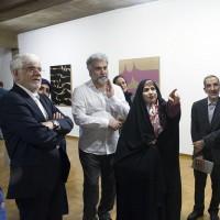نمایشگاه موزیکالیگرافی | معرفی خط نستعلیق به عنوان خط رسمی ایران در مجلس بررسی می شود | عکس