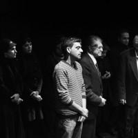 نمایش من چه جوری ممکنه یه پرنده باشم؟ | گزارش تصویری از حضور آقایان عباس جوانمرد و احمد نوربخش در نمایش من چه جوری ممکنه یه پرنده باشم؟ | عکس