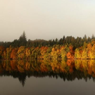 پاییز در نقاط مختلف جهان | Pitlochry, Scotland