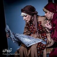 گزارش تصویری تیوال از نمایش شب بخیر مادر / عکاس: سارا ثقفی | عکس