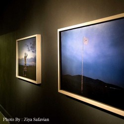 گزارش تصویری تیوال از نمایشگاه پرده دوم اتفاق / عکاس: سید ضیا الدین صفویان | عکس