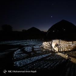 حصیربافی قلعه گنج | عکس