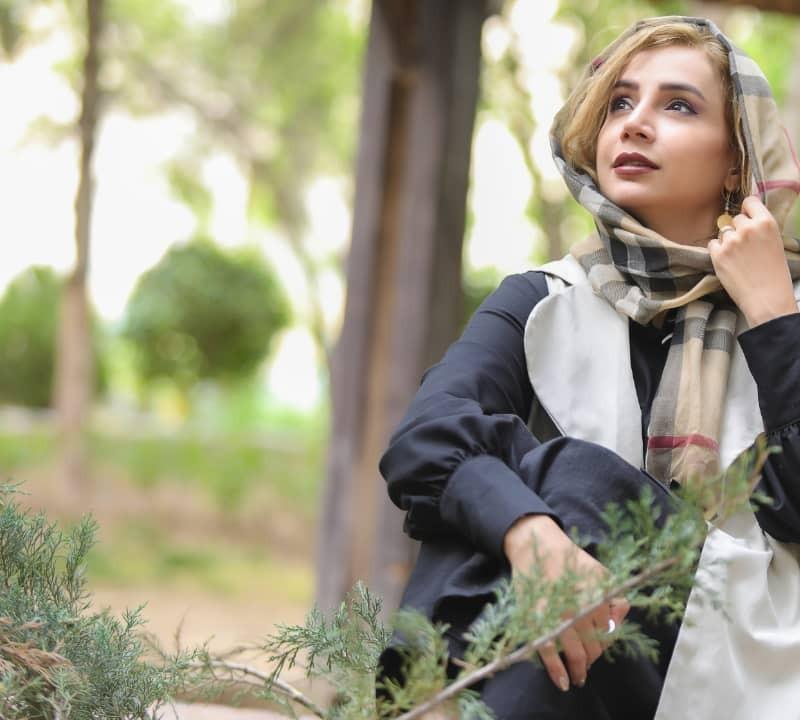 شبنم قلیخانی بازیگر یک تله تئاتر شد | عکس