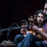گزارش تصویری تیوال از کنسرت علیاصغر عربشاهی و کوارتت تار / عکاس: سارا ثقفی | علی اصغر عربشاهی، مسعود آزین